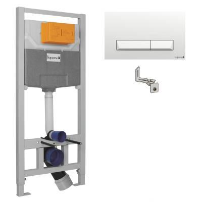 Комплект инсталляции Imprese 3в1 (белая клавиша)