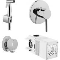 Встраиваемый смеситель+гигиенический душ