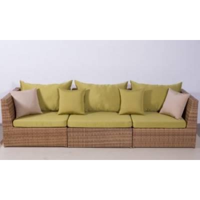 Модульный диван ИБИЦА жгут 30296 ТЕРРАСА Люкс с подушками