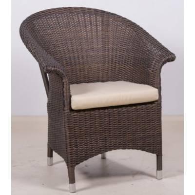 Плетеное кресло РИО жгут 8251 ТЕРРАСА Люкс с подушкой