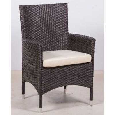 Плетеное кресло КИПР жгут 30834 ТЕРРАСА Люкс с подушкой