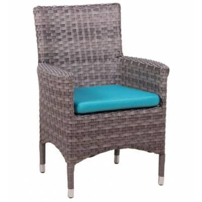 Плетеное кресло КИПР жгут 7262/7425 ТЕРРАСА Люкс с подушкой