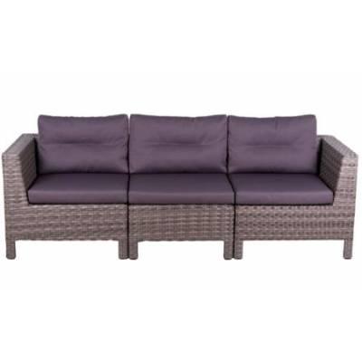 Модульный диван МАТЕРА-2 жгут 7262/7425 ТЕРРАСА Люкс с подушками