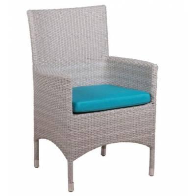 Плетеное кресло КИПР жгут 9378 ТЕРРАСА Люкс с подушкой