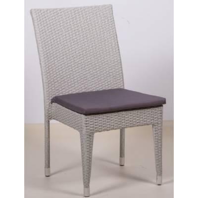 Плетеный стул КРИТ жгут 9378 ТЕРРАСА Люкс с подушкой