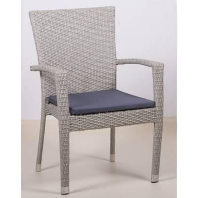 Плетеное кресло БАЛИ жгут 9378 ТЕРРАСА Люкс с подушкой