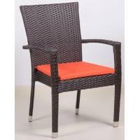 Плетеное кресло БАЛИ жгут 30834 ТЕРРАСА Люкс с подушкой
