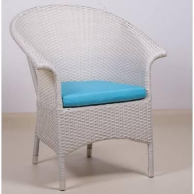 Плетеное кресло РИО жгут 9366 ТЕРРАСА Люкс с подушкой