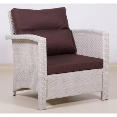 Плетеное кресло ВЕНЕЦИЯ-2 жгут 9366 ТЕРРАСА Люкс с подушками