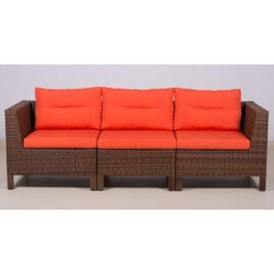 Модульный диван МАТЕРА-2 жгут 30703 ТЕРРАСА Люкс с подушками