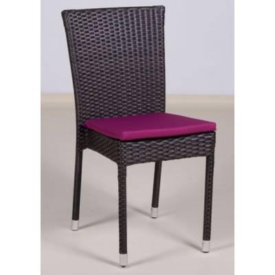 Плетеный стул КРЫМ жгут 30834 ТЕРРАСА Люкс с подушкой