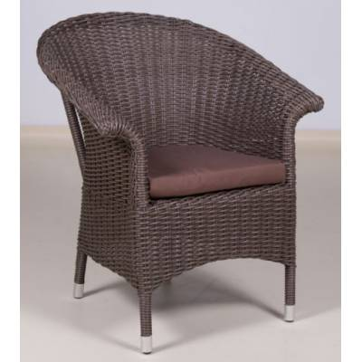 Плетеное кресло РИО жгут 30832-1 ТЕРРАСА Люкс с подушкой