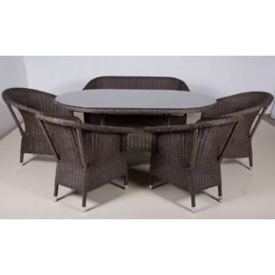 Комплект плетеной мебели РИО жгут 30832-1 ТЕРРАСА Люкс с подушками