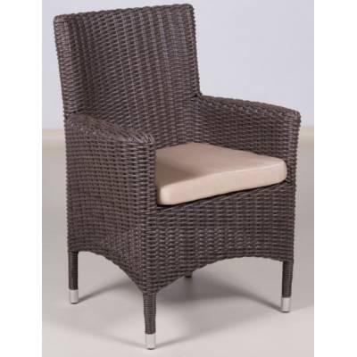 Плетеное кресло КИПР жгут 30832-1 ТЕРРАСА Люкс с подушкой