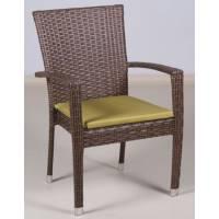 Плетеное кресло БАЛИ жгут 30806 ТЕРРАСА Люкс с подушкой