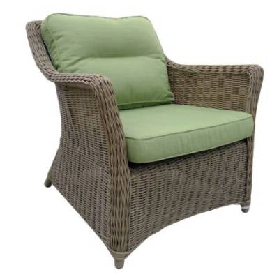 Кресло КОРФУ жгут 31614 ТЕРРАСА Люкс с подушками