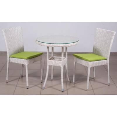 Комплект плетеной мебели КРЫМ жгут 9447 ТЕРРАСА Люкс