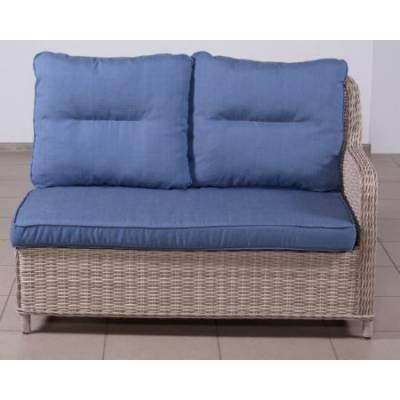 Элемент модульного дивана РИО-ГРАНДЕ правый/левый жгут 9677 ТЕРРАСА Люкс с подушками