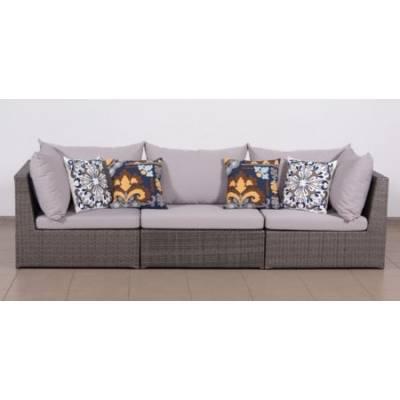 Модульный диван ИБИЦА жгут 7412 ТЕРРАСА Люкс с подушками ткань 13806