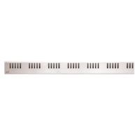 DREAM-950L Решетка для водоотводящего желоба (Нержавеющая сталь)