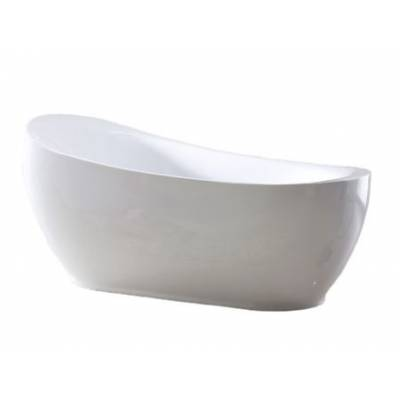 Акриловая ванна Gemy 180x90x43,5x80