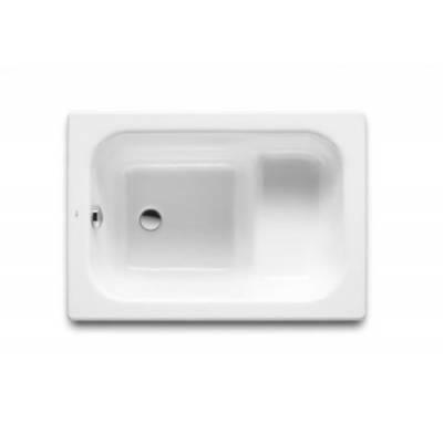 Стальная ванна Roca CONTESA 100x70x39 универсальная