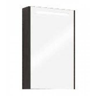 СИЛЬВА 50 зеркало - шкаф (Дуб Макиато) (аналог венге)