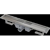 Водоотводящий желоб с порогами для цельной решетки Alcaplast APZ6-550