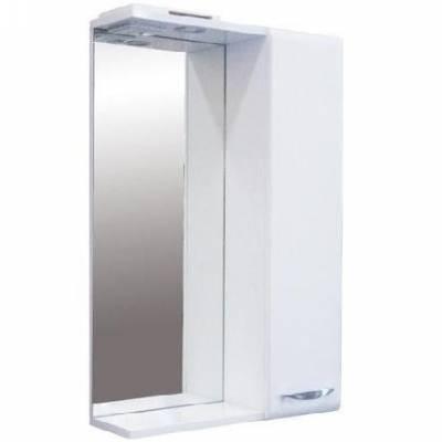 Зеркало-шкафчик белый SANITA ИДЕАЛ 01-52 см.