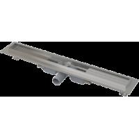 Водоотводящий желоб с порогами для цельной решетки Alcaplast APZ106-550