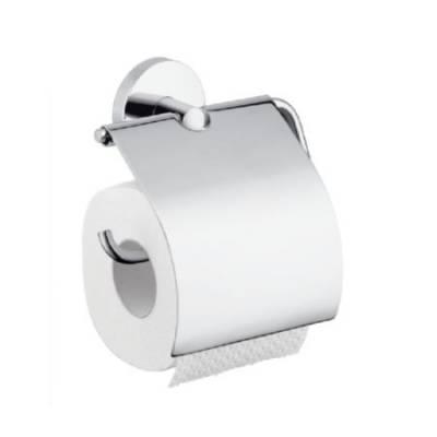 Держатель для туалетной бумаги с крышкой Hansgrohe 40523000 Logis
