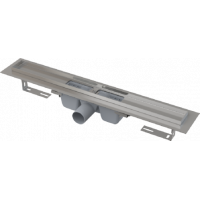 Водоотводящий желоб с порогами для перфорированной решетки Alcaplast APZ1-550