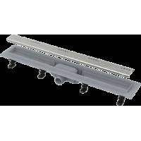 Водоотводящий желоб с порогами для перфорированной решетки Alca Plast APZ8-750 Simple