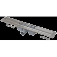 Водоотводящий желоб с порогами для перфорированной решетки Alcaplast APZ1-1050