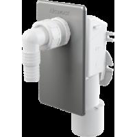 Сифон для стиральной машины под штукатурку хром Alca Plast APS3