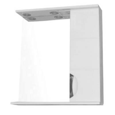 Зеркало-шкаф Стиль Соло 60 с фрезеровкой (600*820*160)
