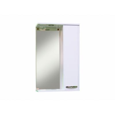 Зеркало-шкаф Sanita Квадро 50 с освещением