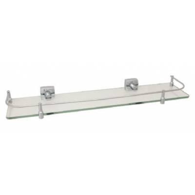 Полка стеклянная Fixsen Kvadro FX-61303В