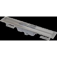 APZ1001-750 Водоотводящий желоб с порогами для перфорированной решетки, с вертикальным стоком (сталь)
