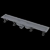 Водоотводящий желоб с порогами для решетки Alcaplast APZ12-750 Optima