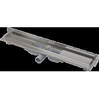 Водоотводящий желоб с порогами для перфорированной решетки Alcaplast APZ104-550