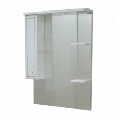 Зеркало - шкаф CORALL GOLD 80/2 лев. (800*1025*170)