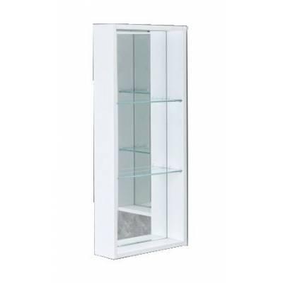 Боковой модуль для зеркала-шкафа Акватон Кантара, дуб полярный
