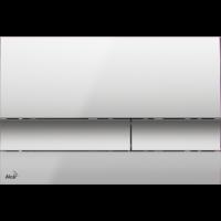 M1722 Кнопка управления (хром - матовая)
