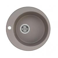 Кухонная мойка Акватон Иверия 48, серый шелк