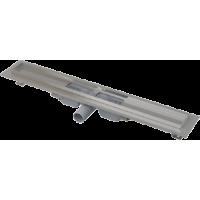Водоотводящий желоб с порогами для перфорированной решетки AlcaPlast APZ101-550 Low