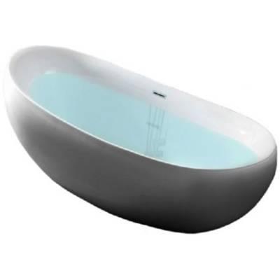 Акриловая ванна Gemy 170x80x43,8x64