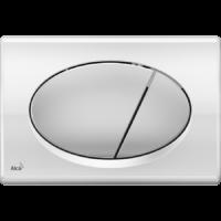 M73 Кнопка управления (хром - комбинация: доска - глянцевая, кнопка - матовая )