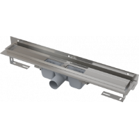 APZ4-750 Flexible - Водоотводящий желоб для перфорированной решетки с регулируемым краем к стене, с горизонтальным стоком