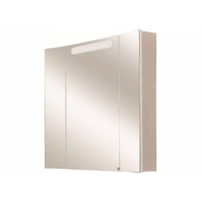 Шкаф-зеркало со светильником Акватон Мадрид 80